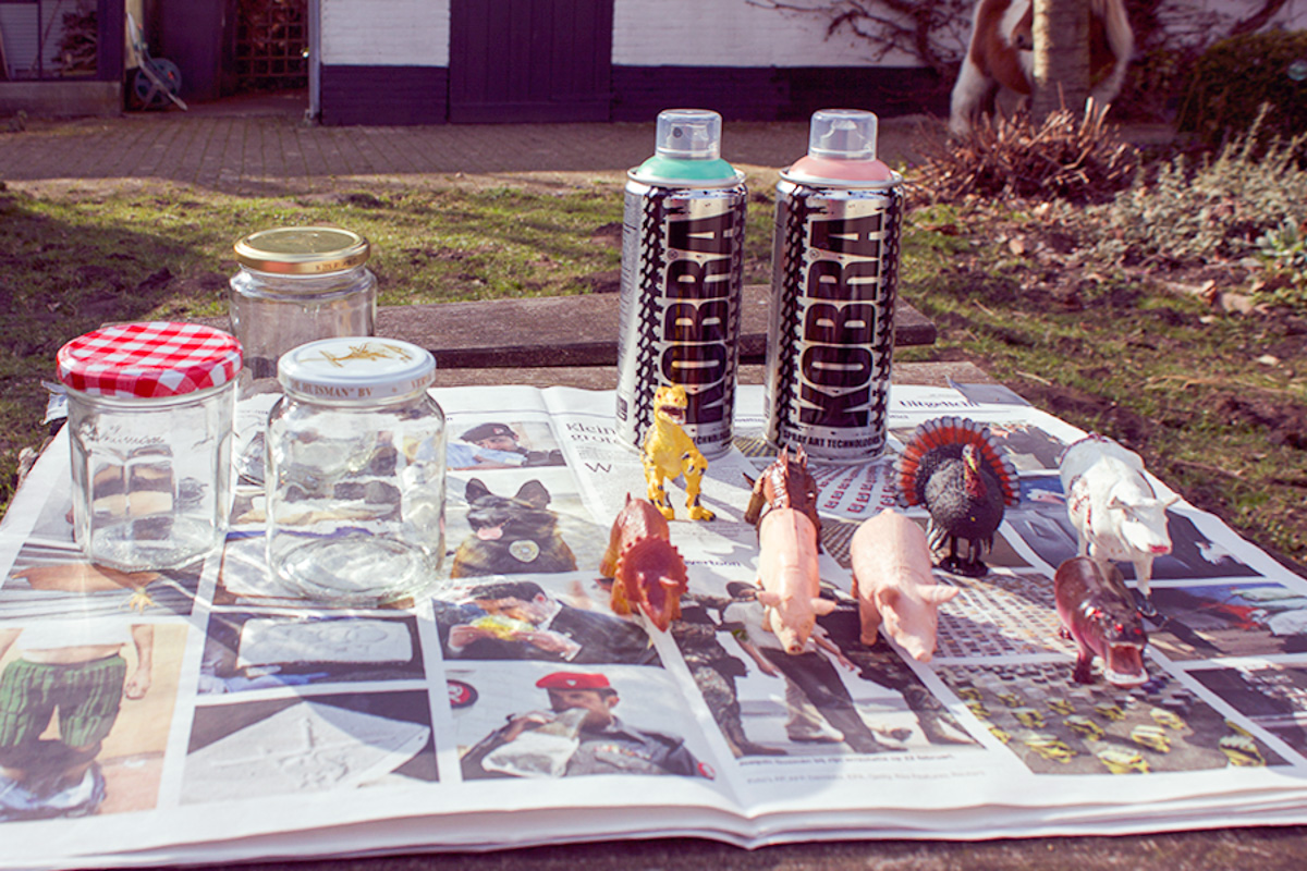 DIY Animal Jars -1