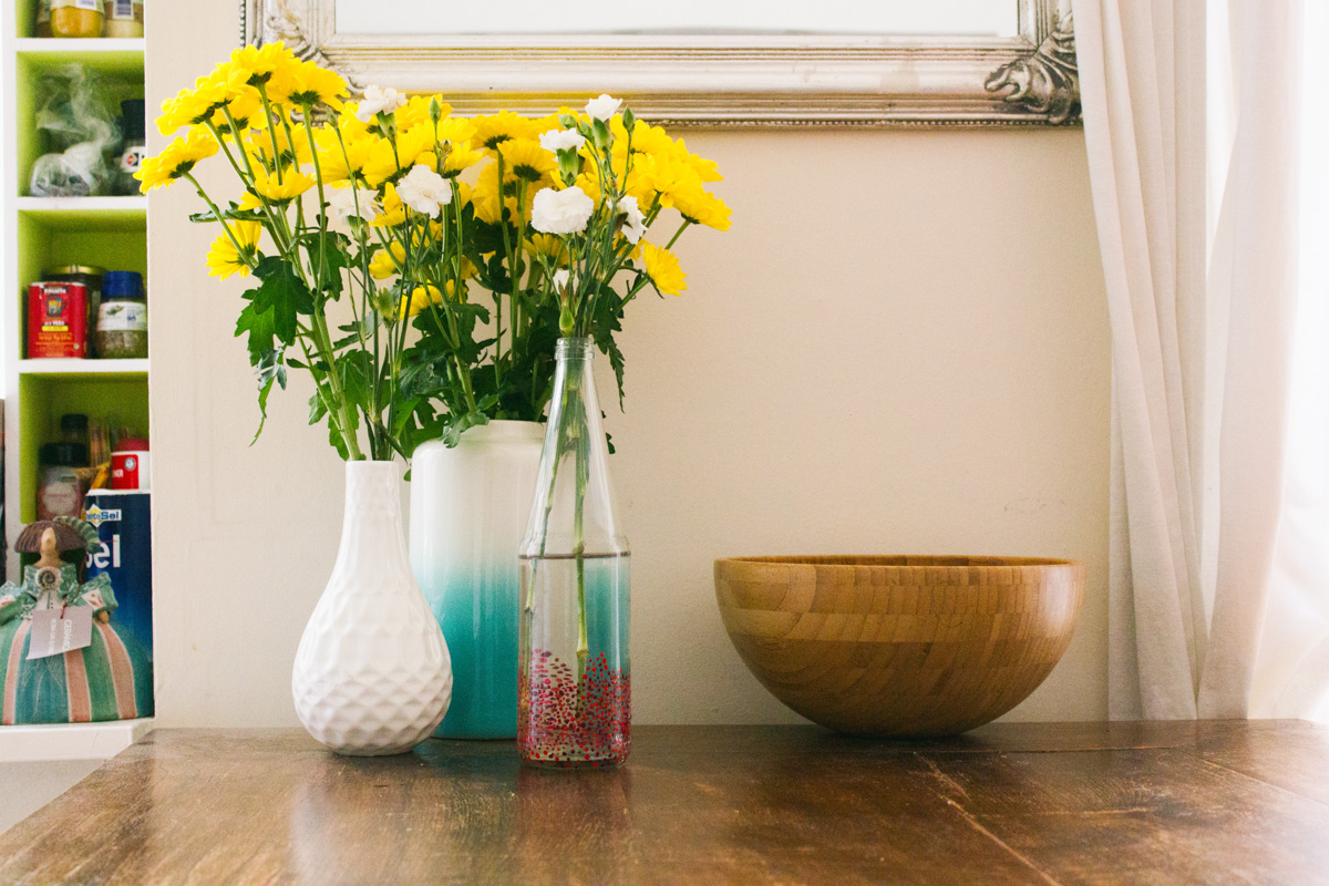 DIY dotted vase -5