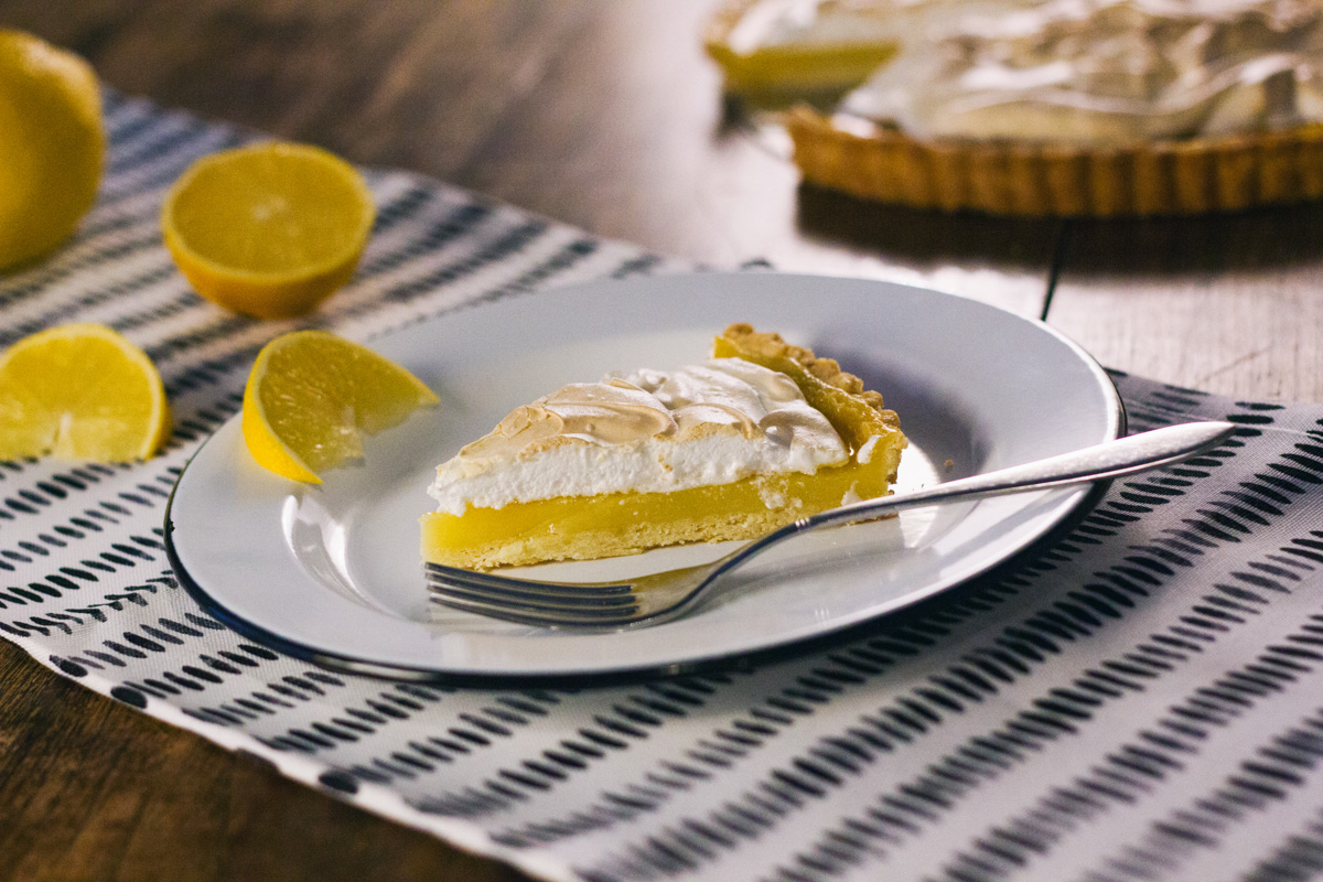 Recept: Citroen meringue taart