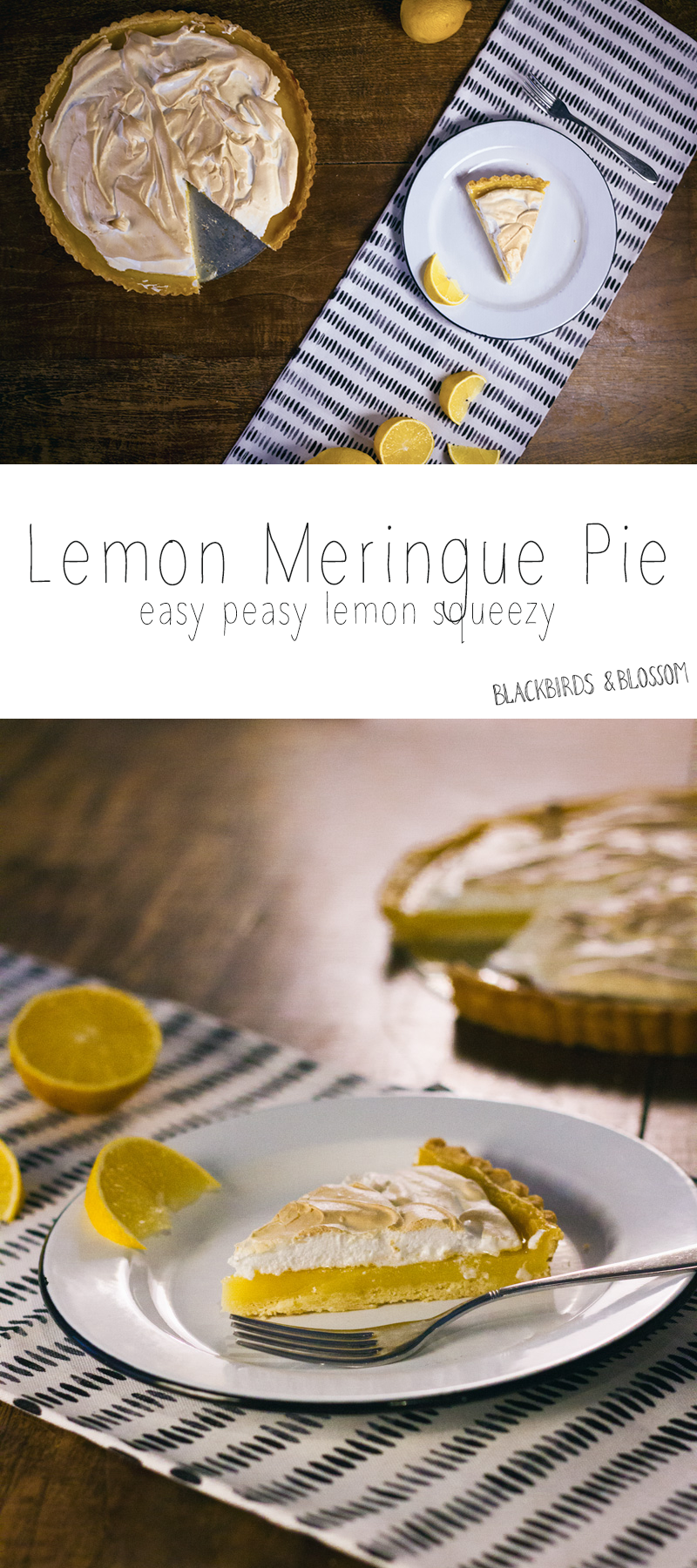 lemon taart