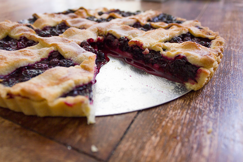 Recipe: Blueberry pie