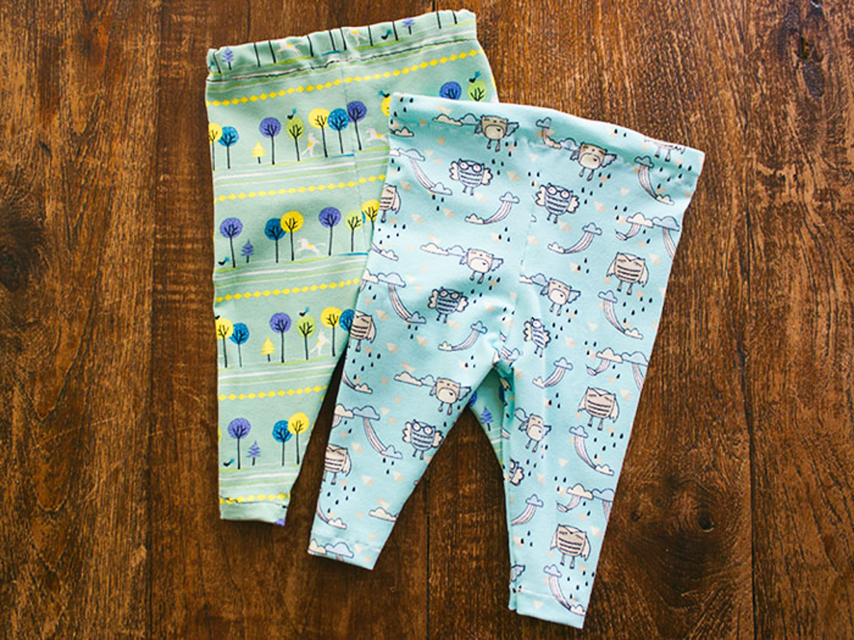DIY baby leggings -2