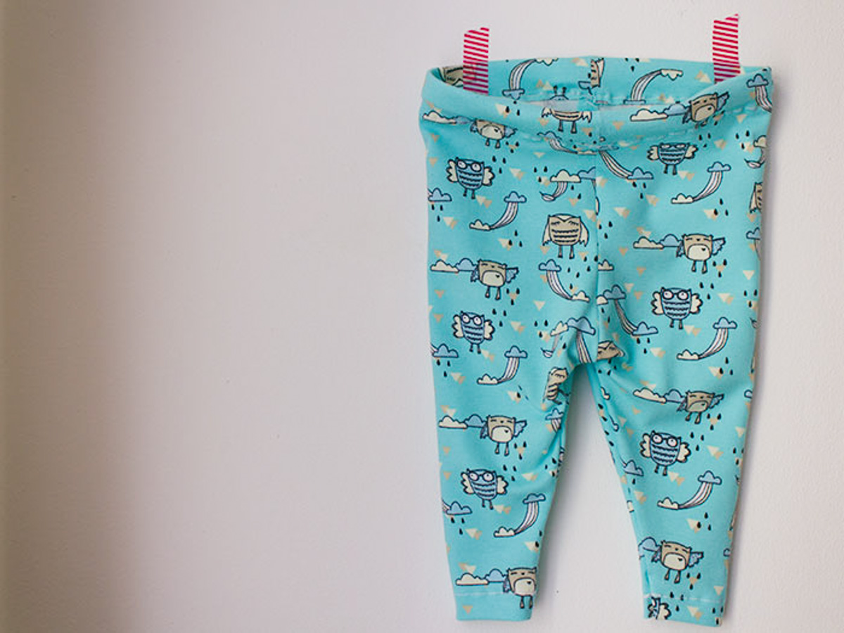 DIY: Baby legging