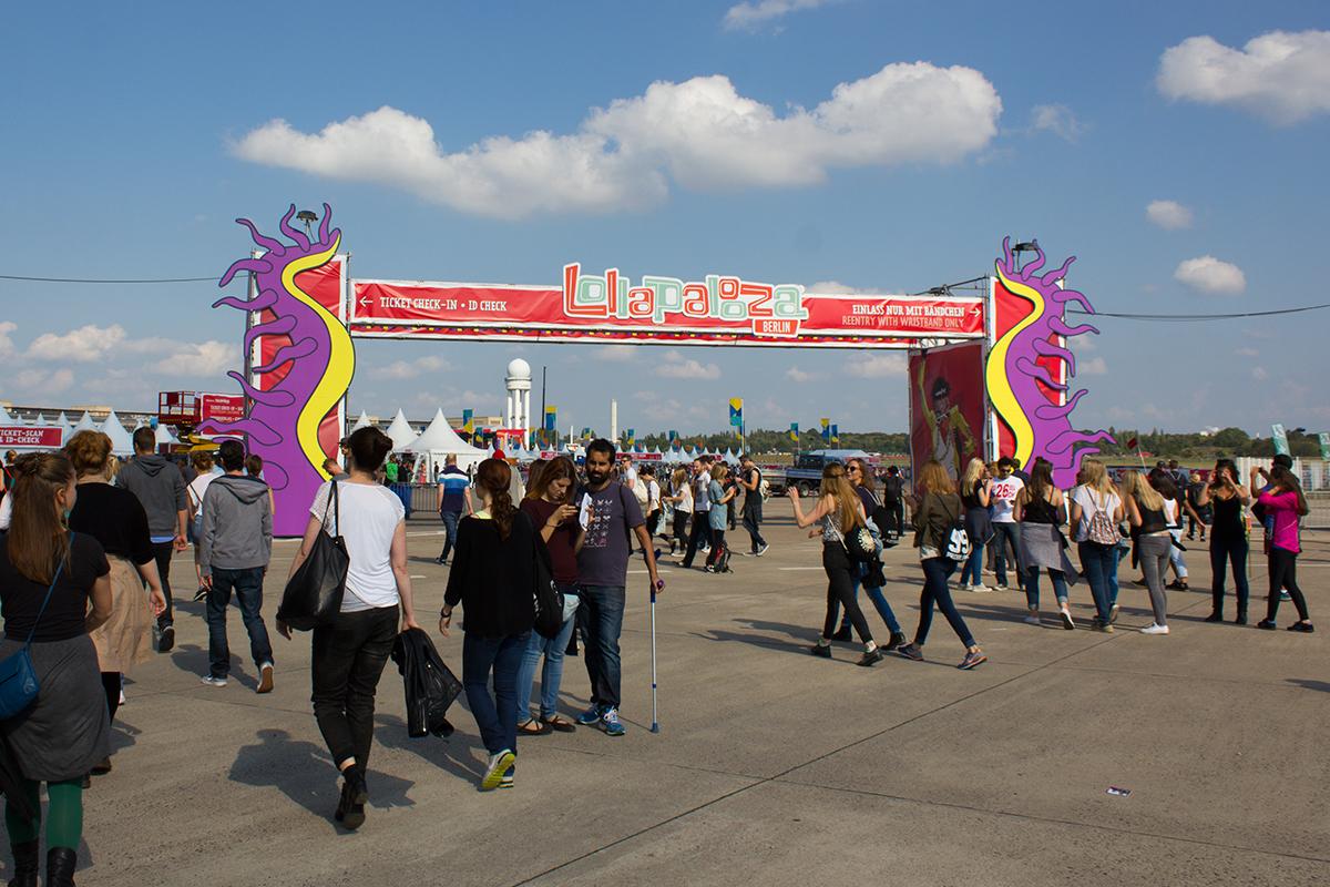 13 dingen die ik leerde bij Lollapalooza Berlin 2015