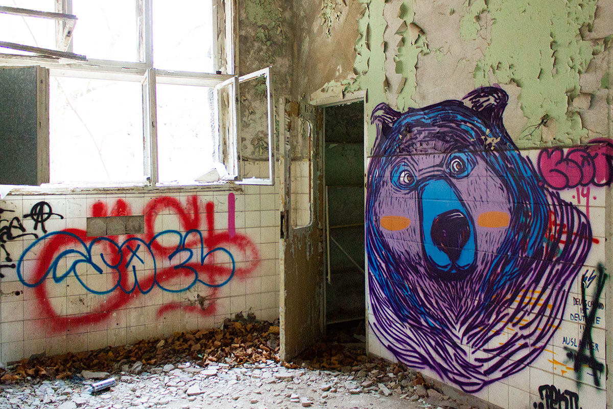 Abandoned - Weissensee - Kinderkrankenhaus -007