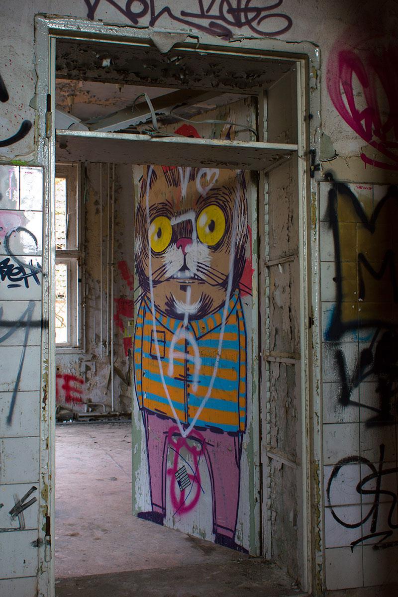 Abandoned - Weissensee - Kinderkrankenhaus -010
