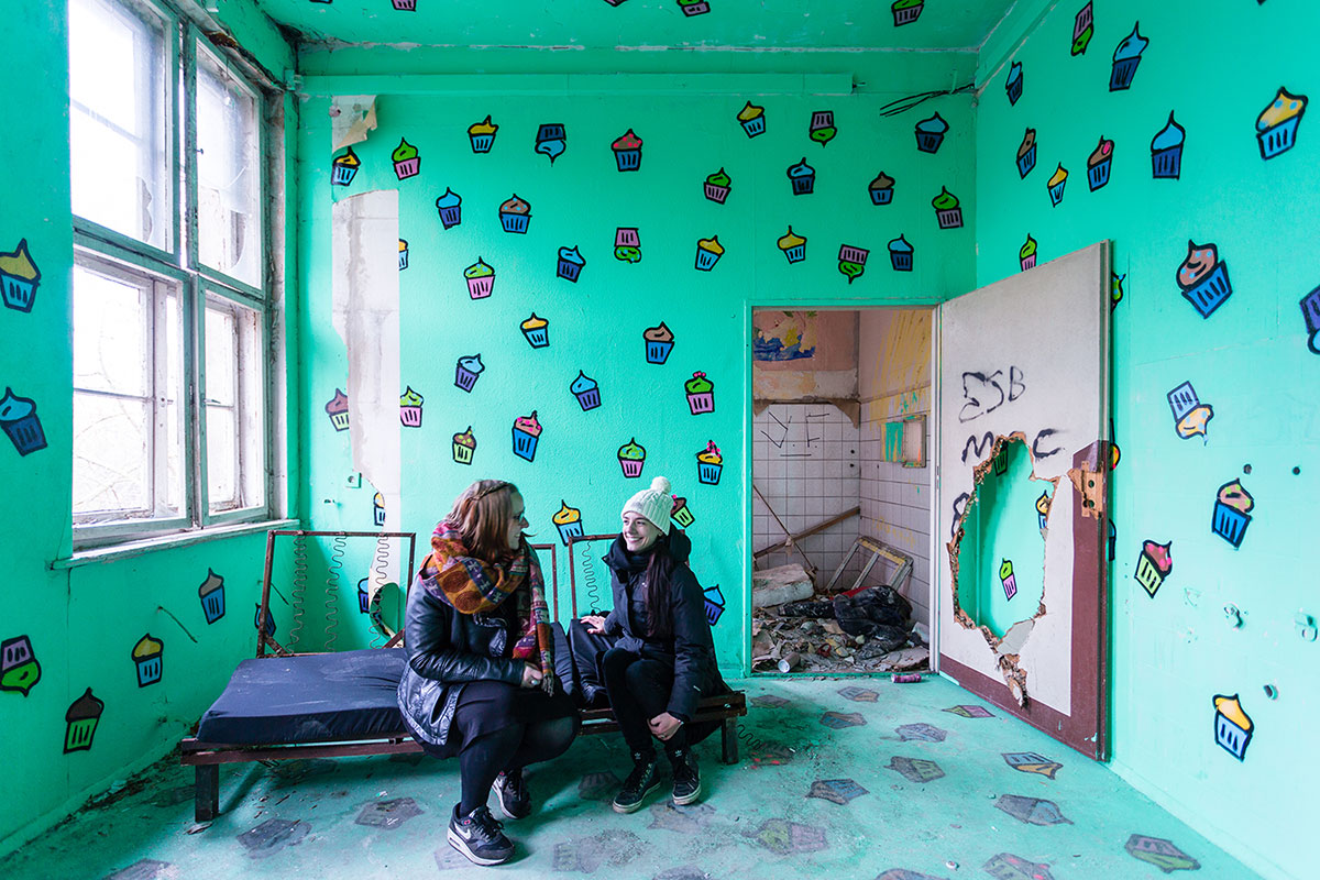 Abandoned - Weissensee - Kinderkrankenhaus -011