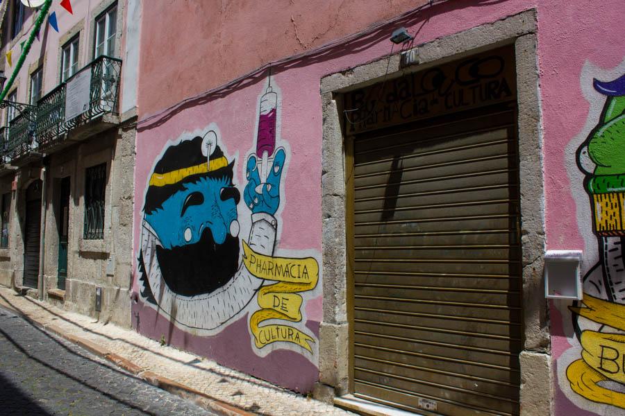 Lisbon Street Art - 01