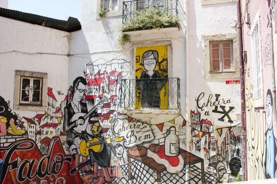 Lisbon Street Art - 03