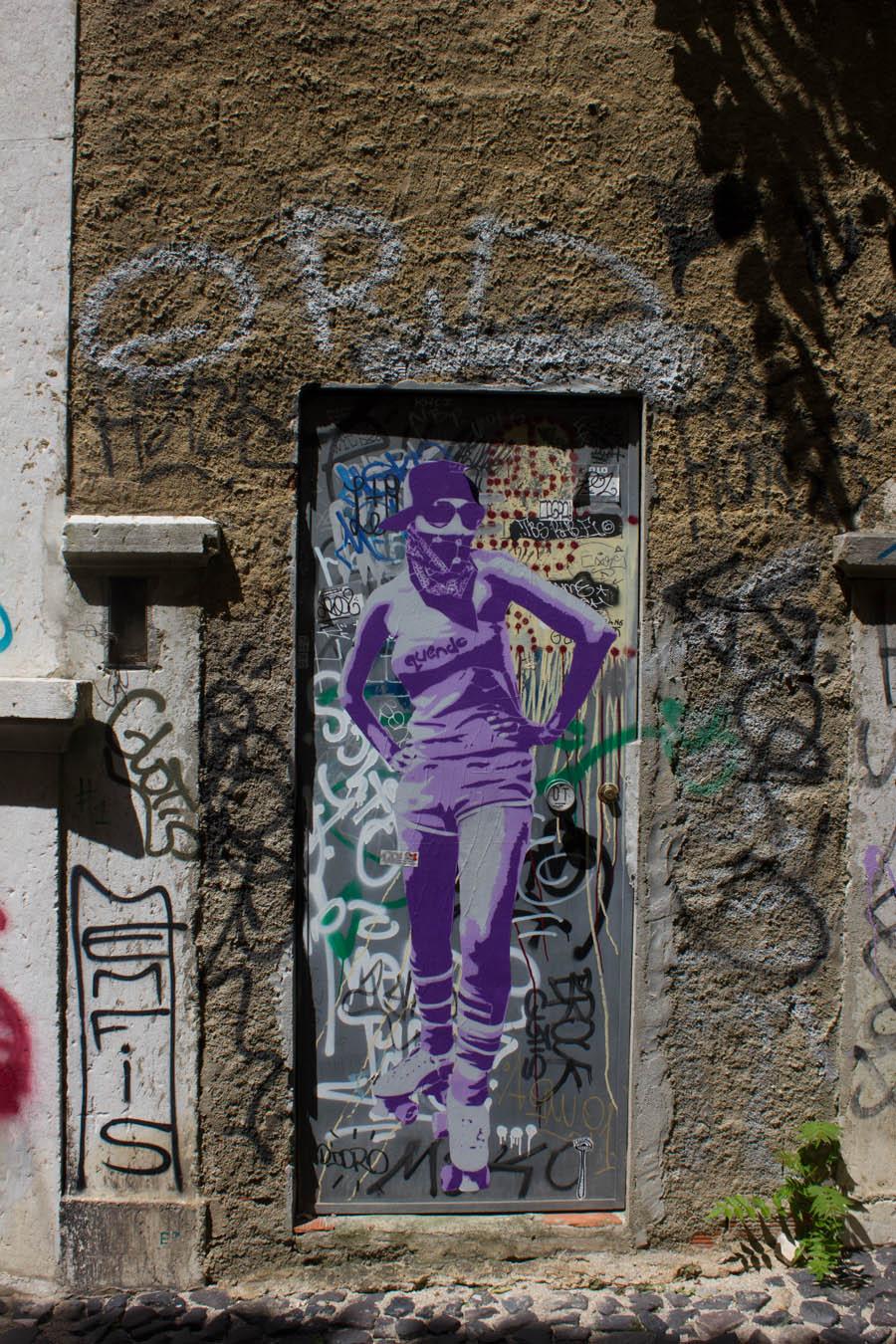 Lisbon Street Art - 05