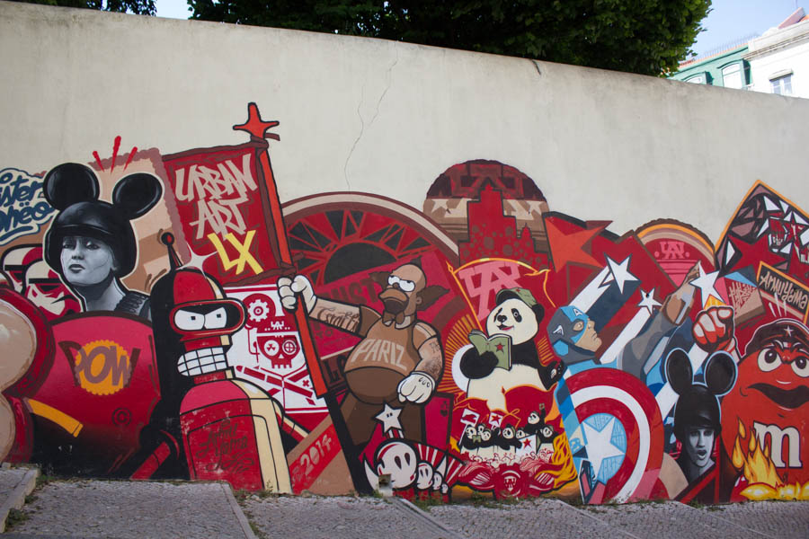 Lisbon Street Art - 09