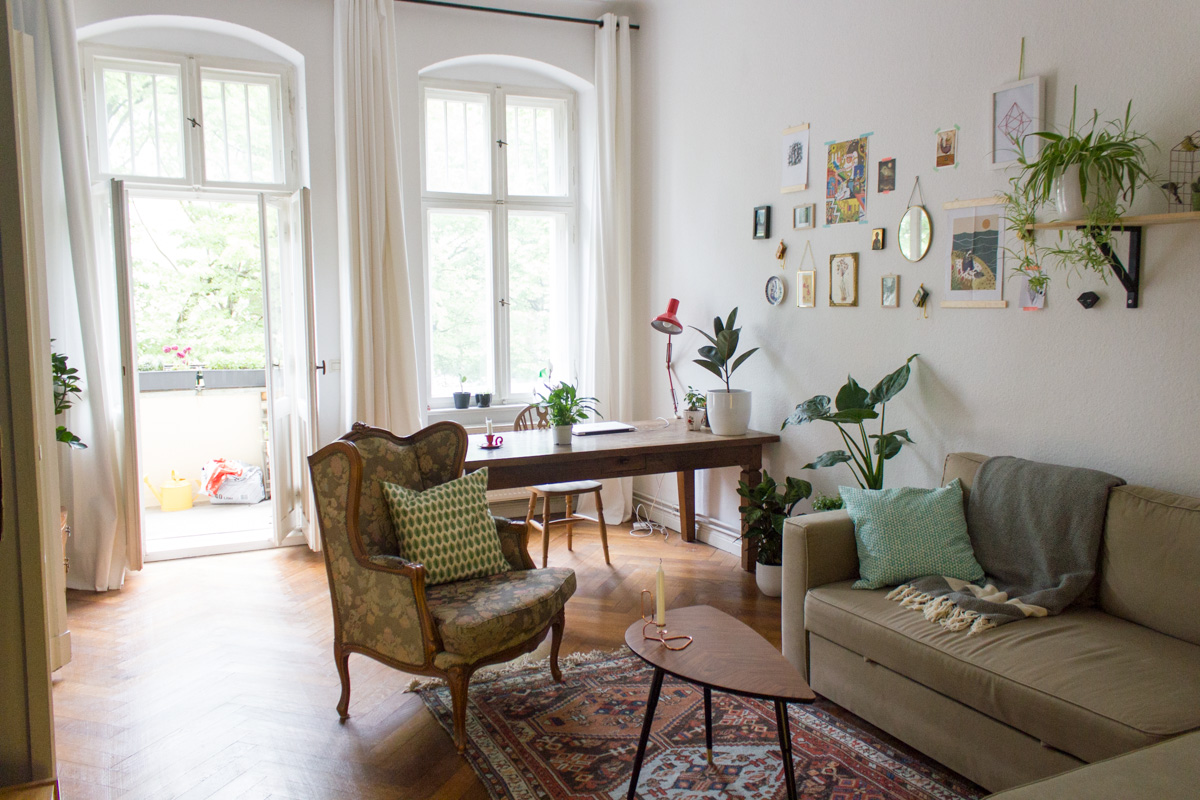 Blackbirds and Blossom - Berlin hometour-12
