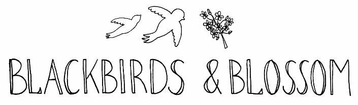 Blackbirds and Blossom