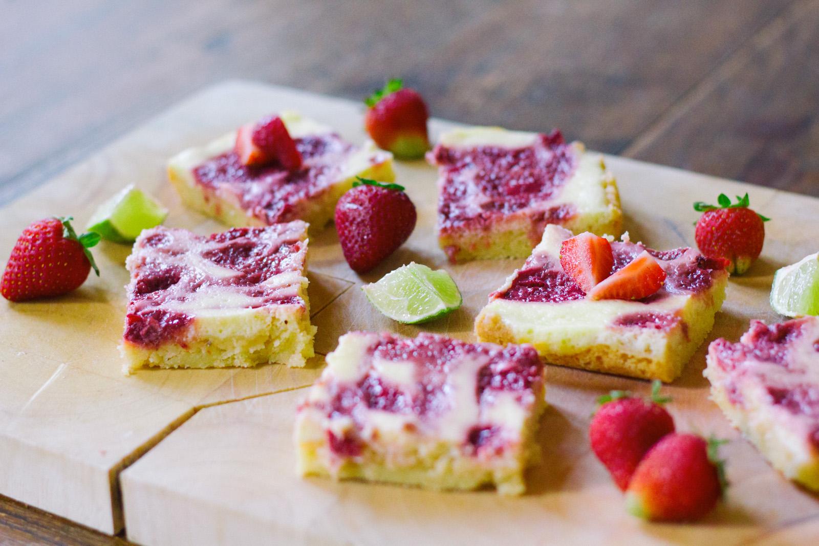 Recept: Lemon Cheesecake met aardbeien
