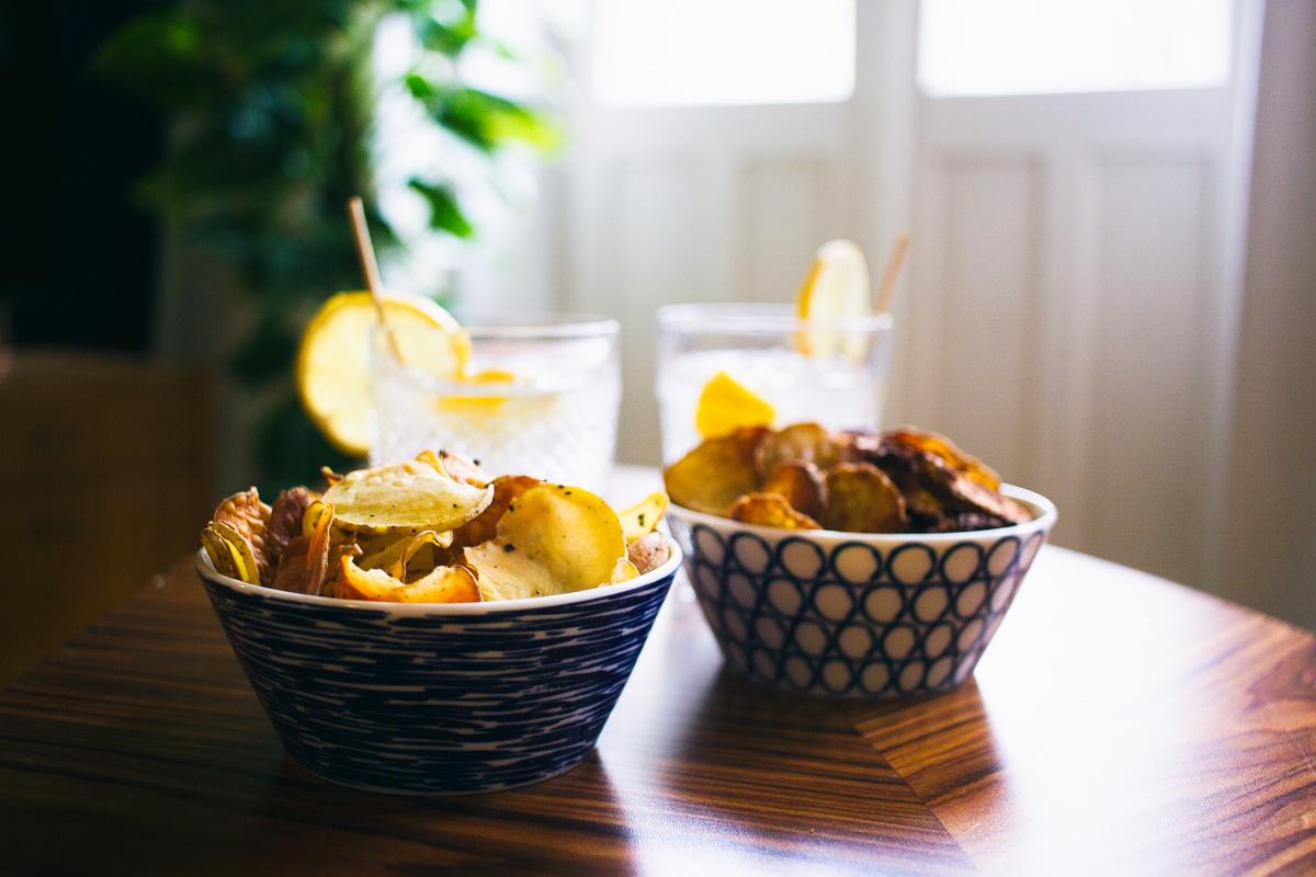 Recept: maak je eigen chips uit de oven