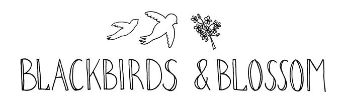 Blackbirds & Blossom -