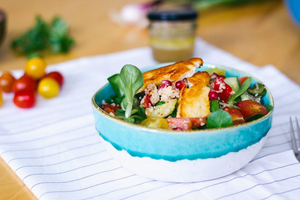 bulgur salade met gegrilde groentes