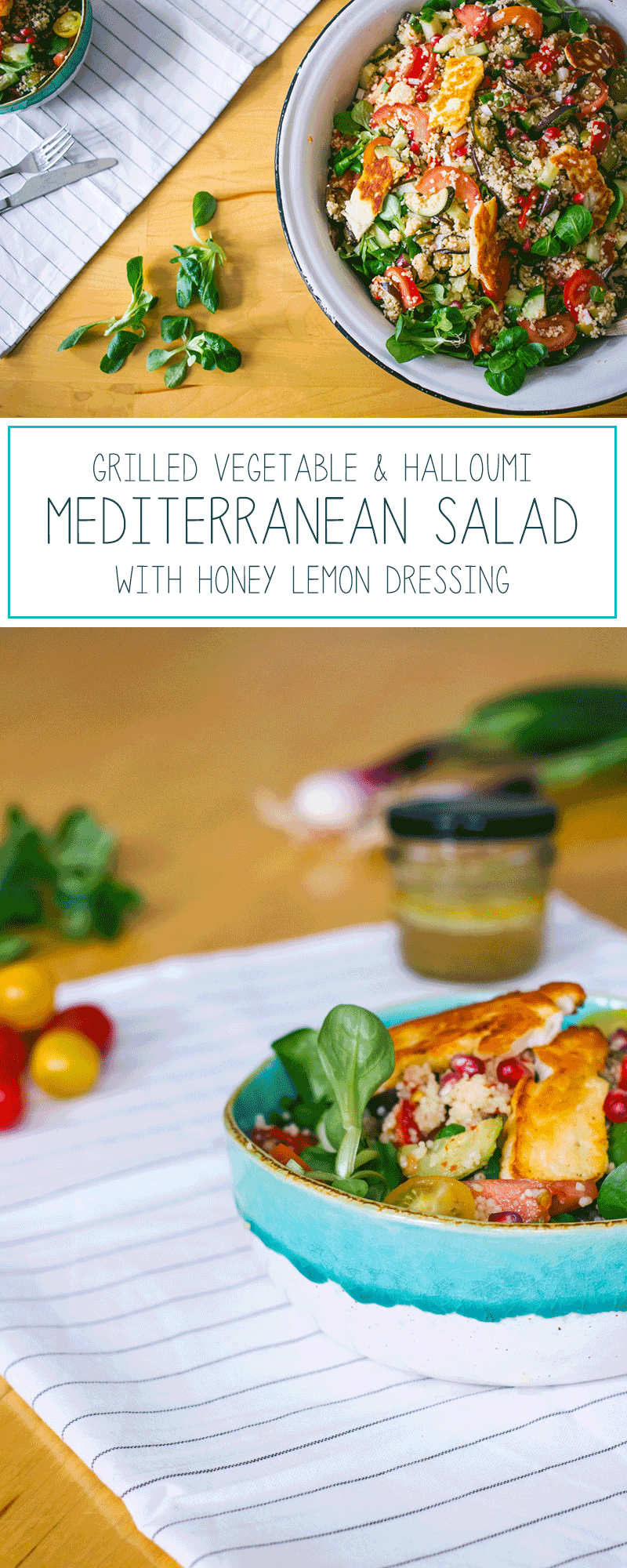 Recept bulgur salade met gegrilde groente