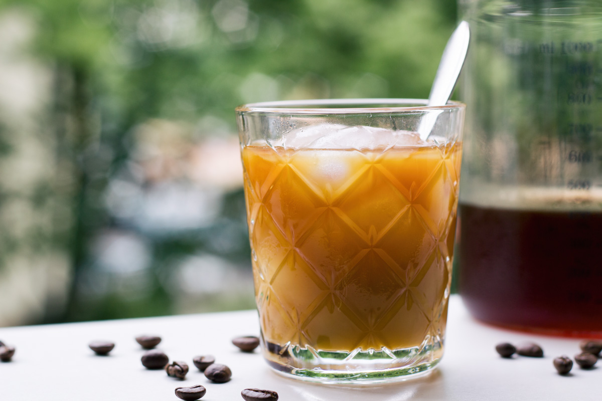 Recept: Cold Brew Coffee & Simple Syrup