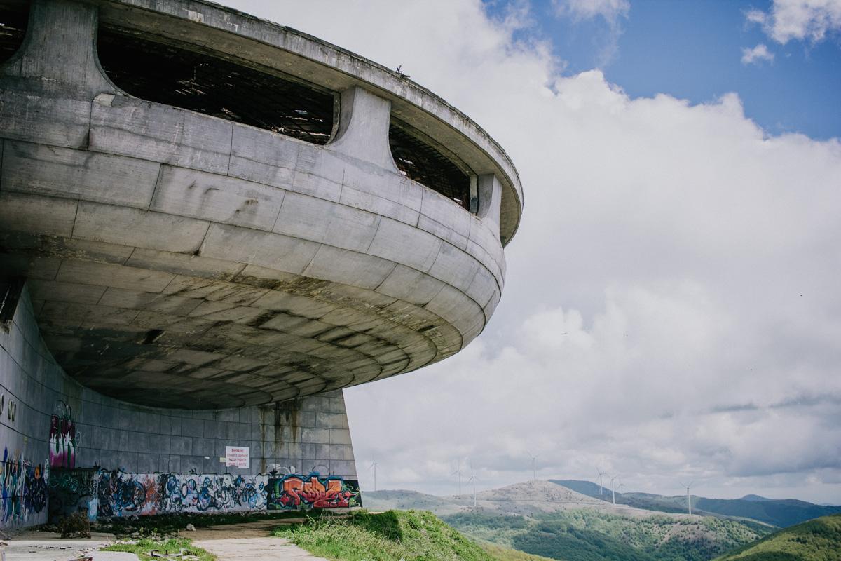 Bulgarije verlaten Buzludzha