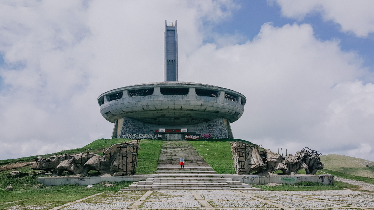 Travel: Bulgarije's verlaten communistische monument Buzludzha