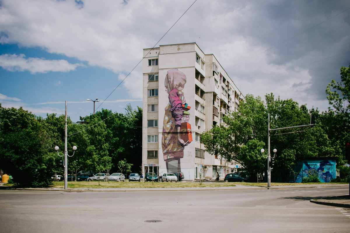 Street art in Sofia (Bulgaria)
