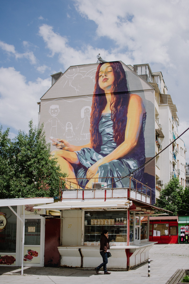 Street art in Sofia
