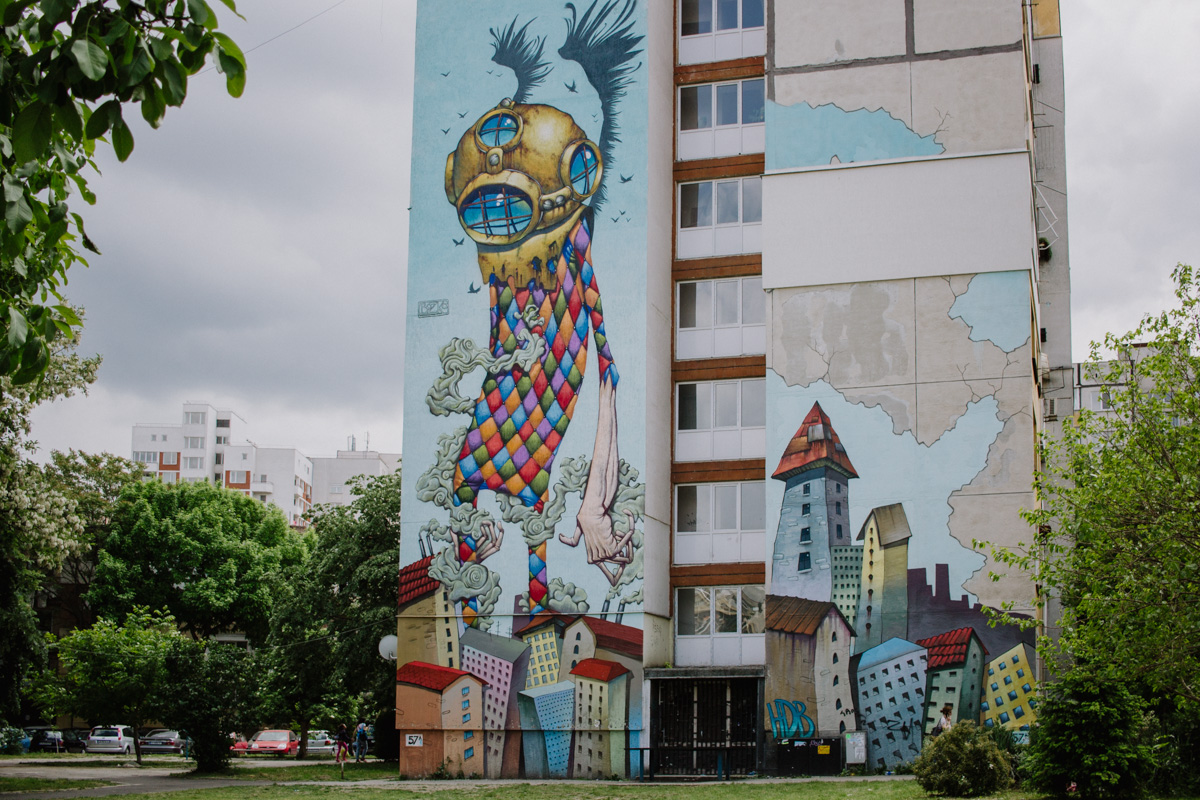 Street art in Sofia travel tips