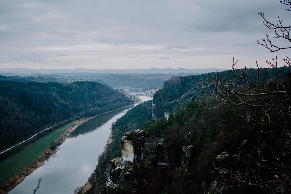 Sächsische Schweiz natuurgebied