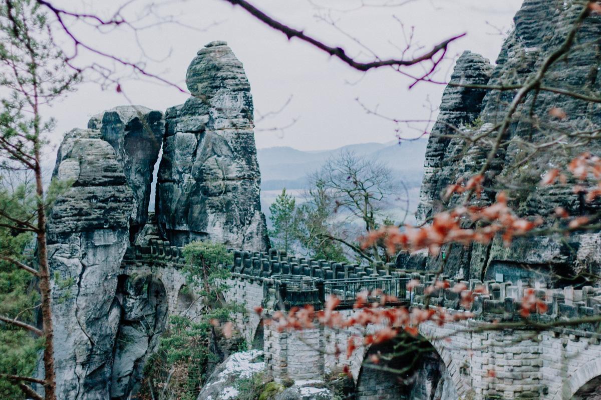 Sächsische Schweiz natuur Duitsland