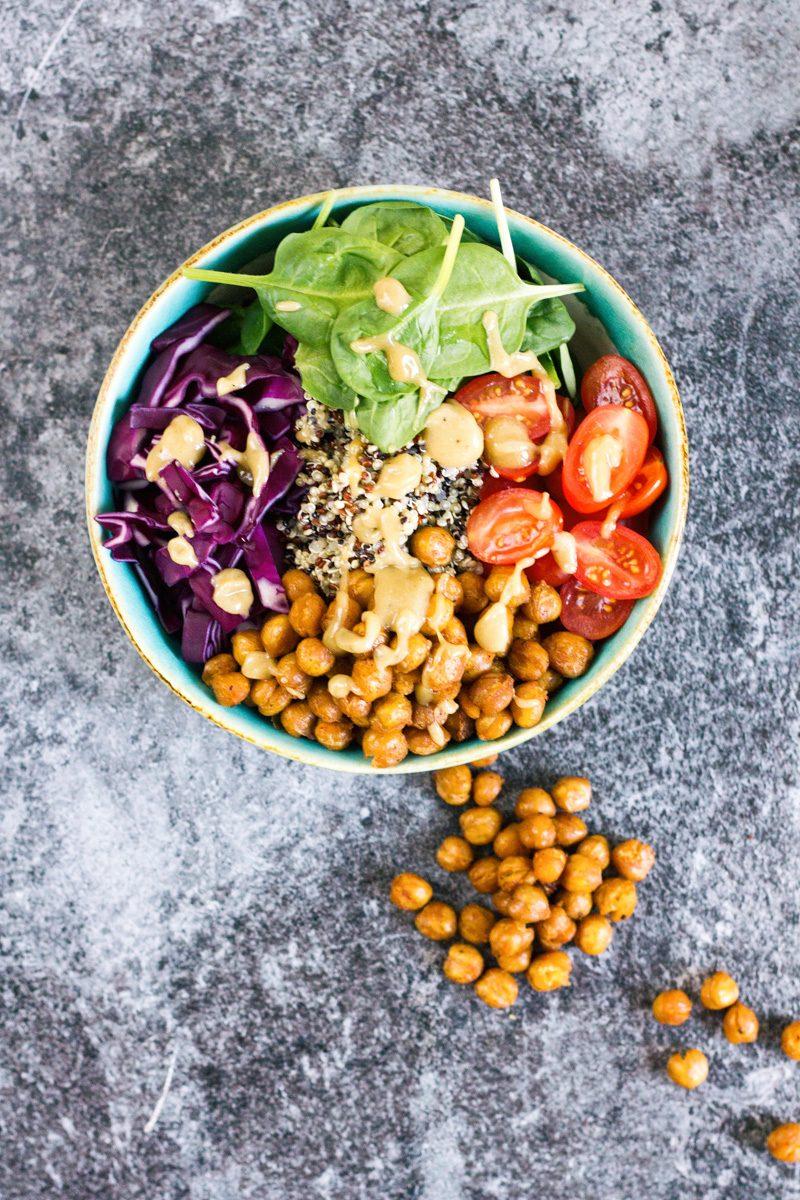 Recept Buddha Bowl quinoa