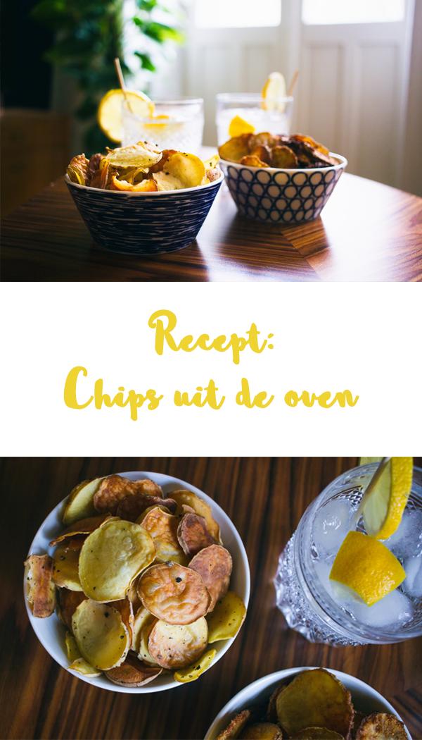 Recept Chips uit de oven
