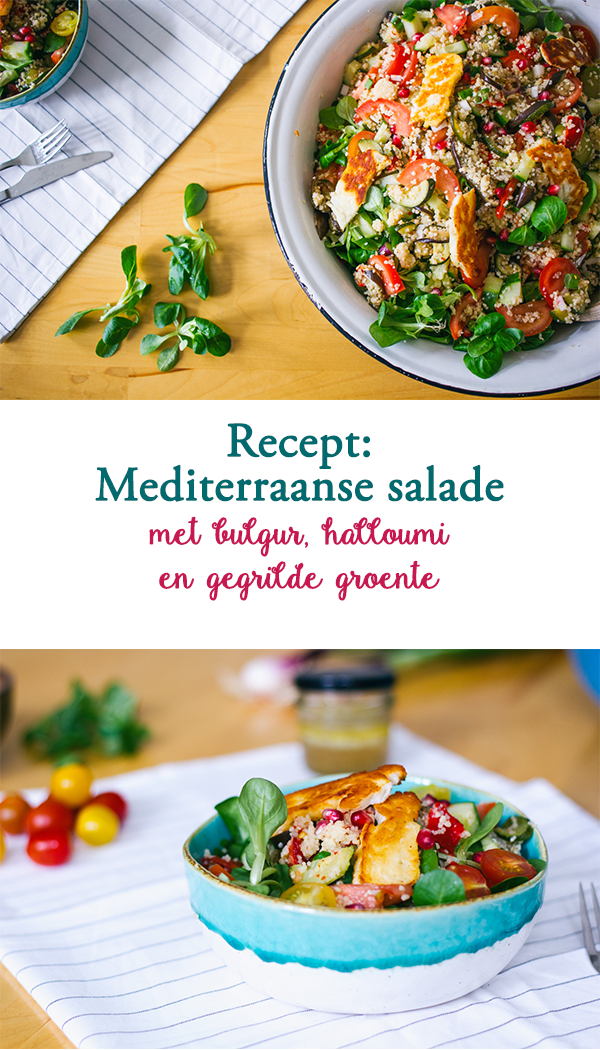 Recept Mediterraanse Bulgur salade