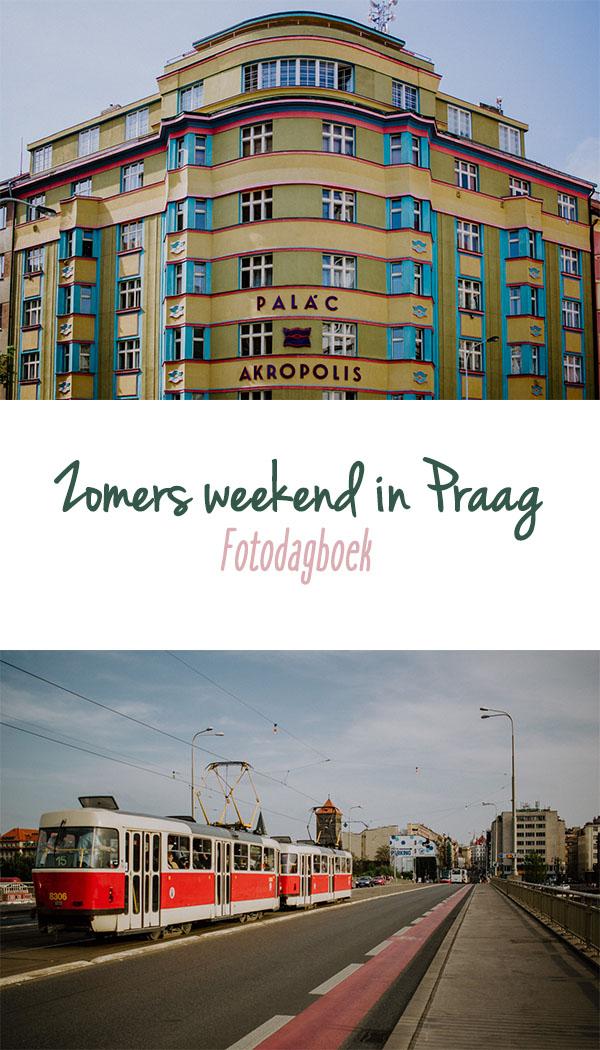 Zomers weekend in Praag